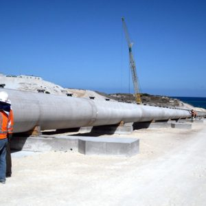 Alkimos Wastewater outfall project, North of Perth, WA